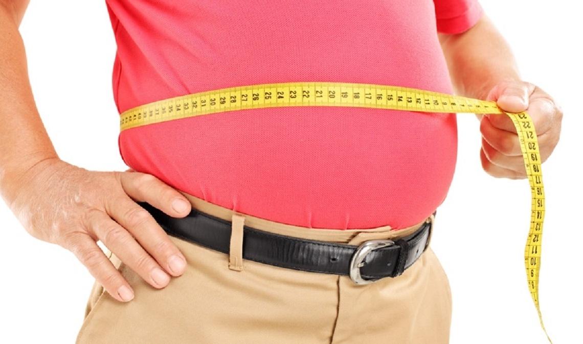 Persona mayor con sobrepeso
