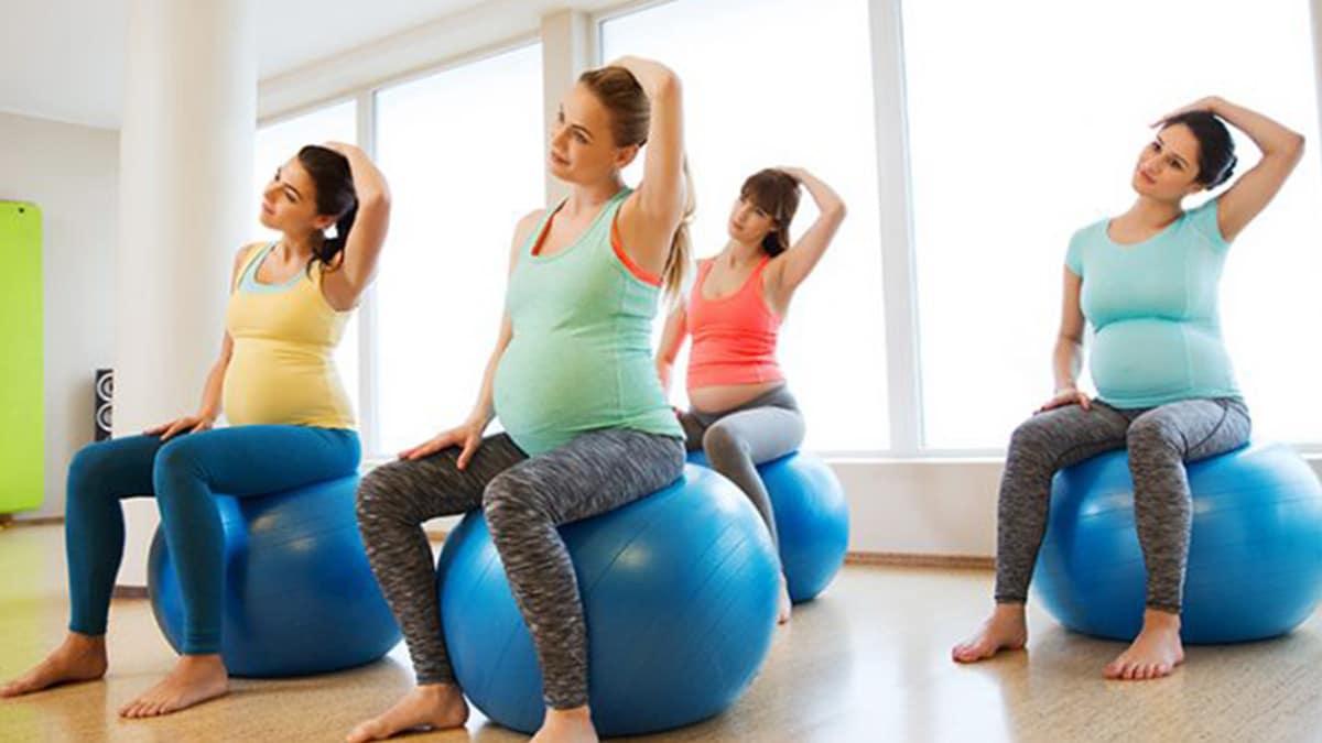 Pilates en mujeres embarazadas