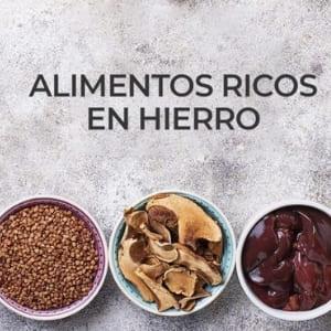 Los 8 mejores alimentos ricos en hierro para prevenir la anemia