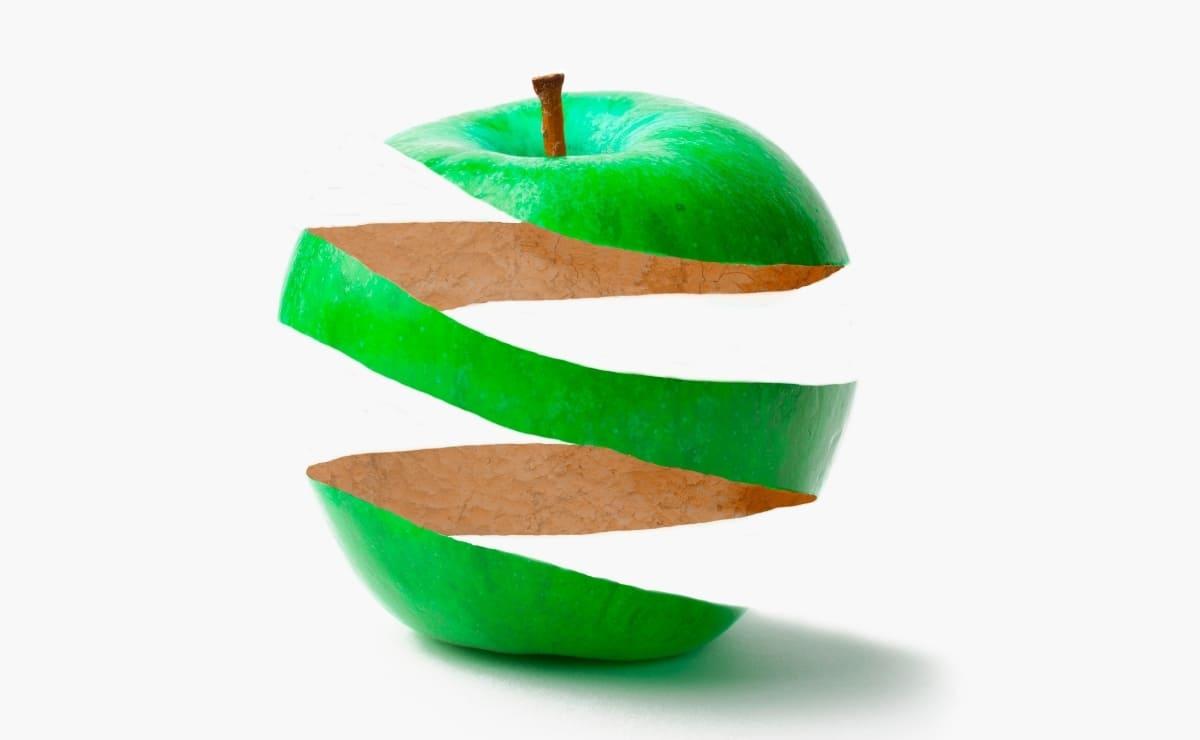 Beneficios comer manzana con cascara