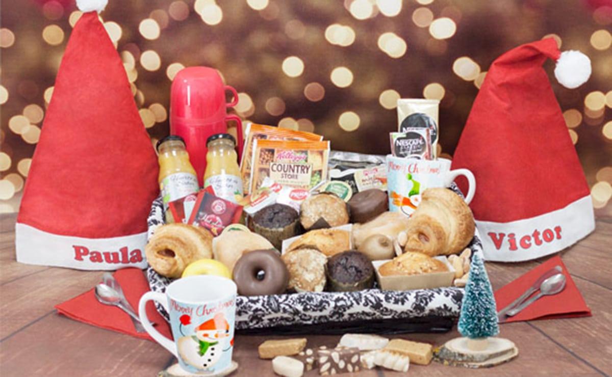 Regalo desayuno navideño
