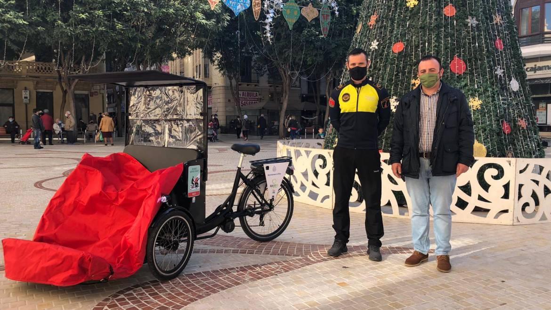 En bici sense edat personas mayores y con discapacidad Elche