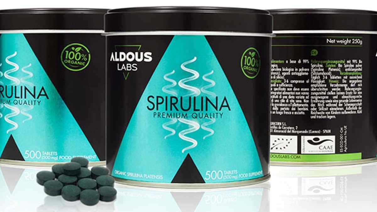 Espirulina Ecológica Aldous Bio