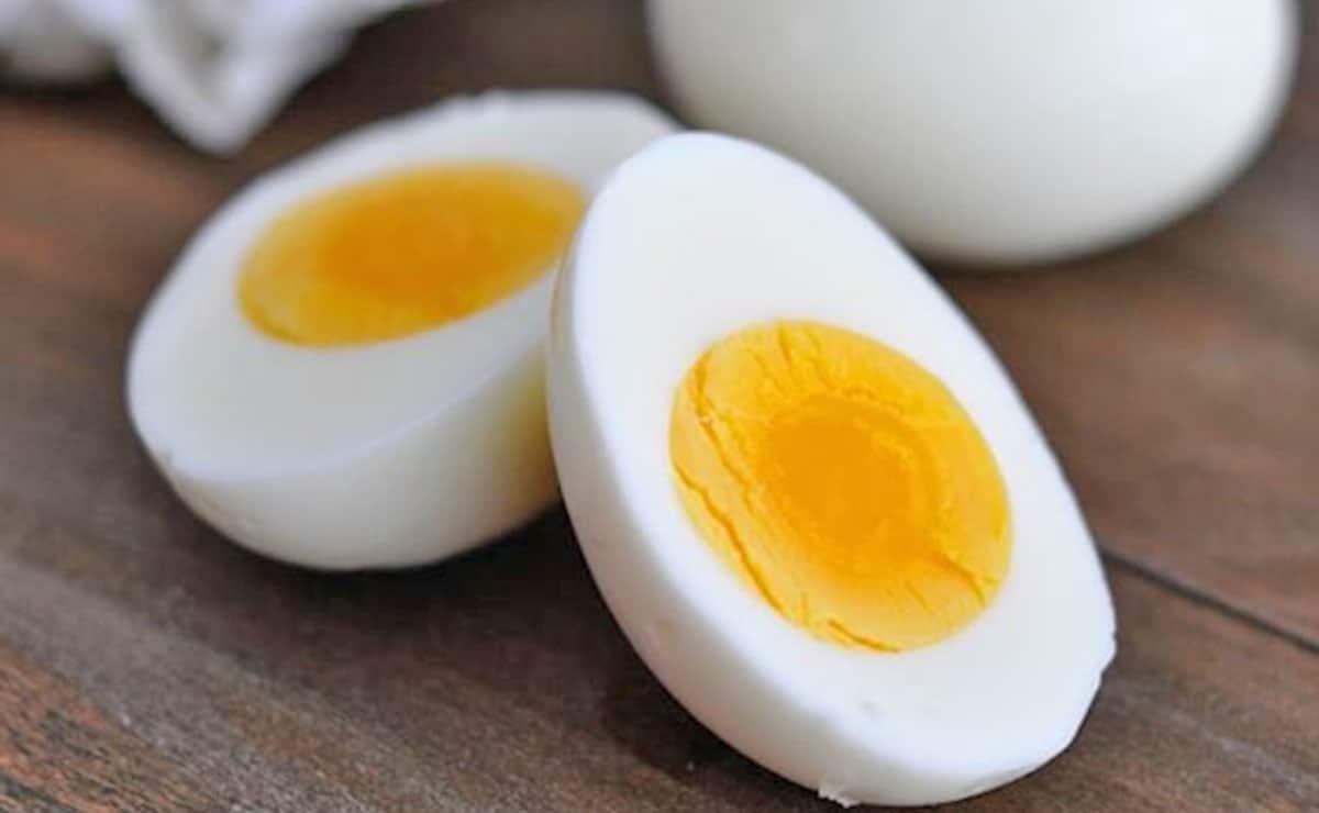 Huevo duro sustitutivo de carne