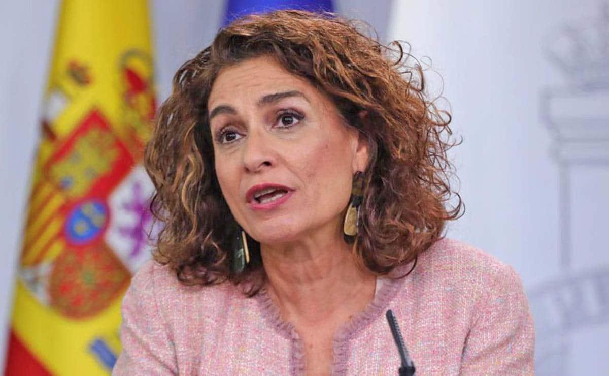 María Jesús Montero, ministra de Hacienda pensiones