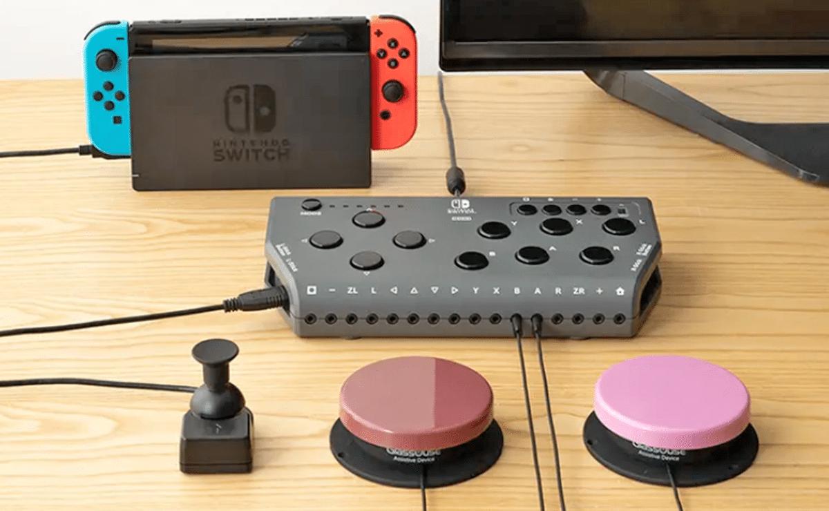 Mando accesible para Nintendo Switch