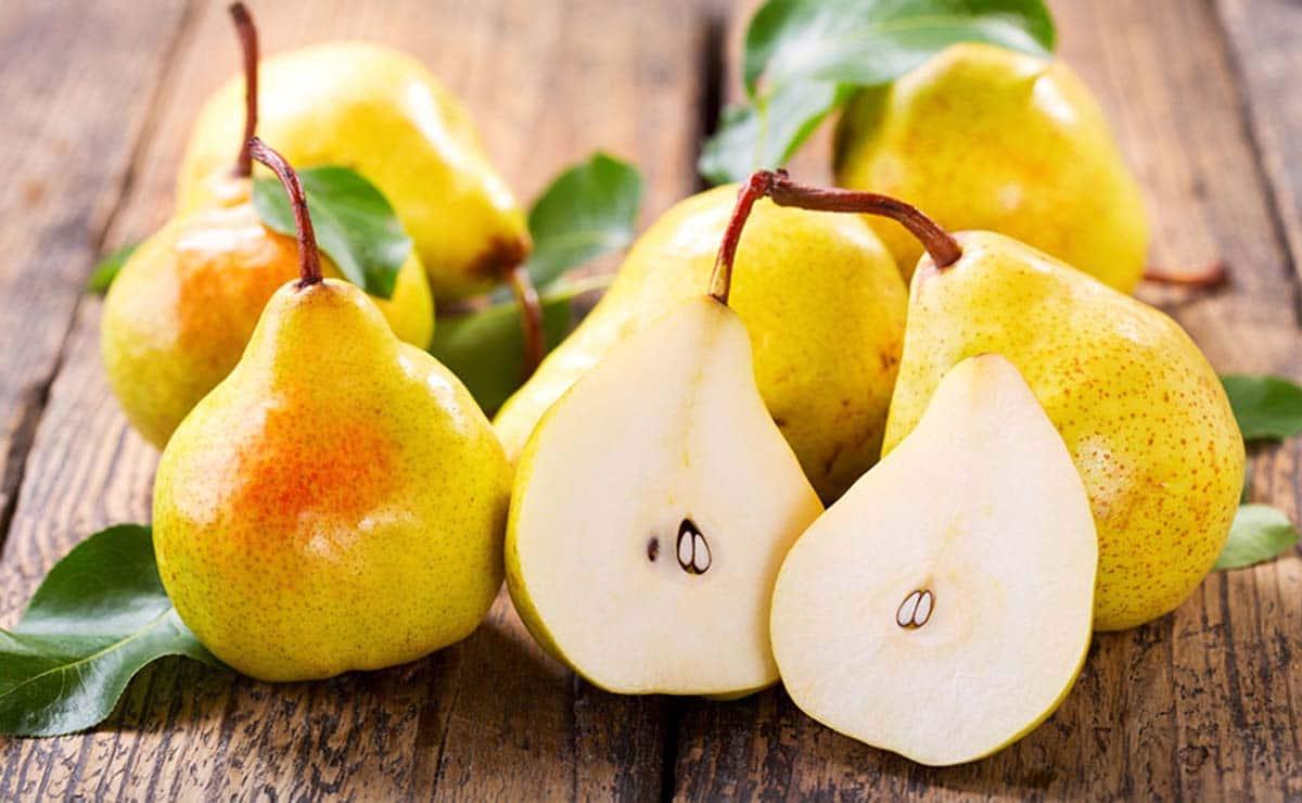 Peras fruta