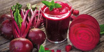 Remolacha fruta vitamina K