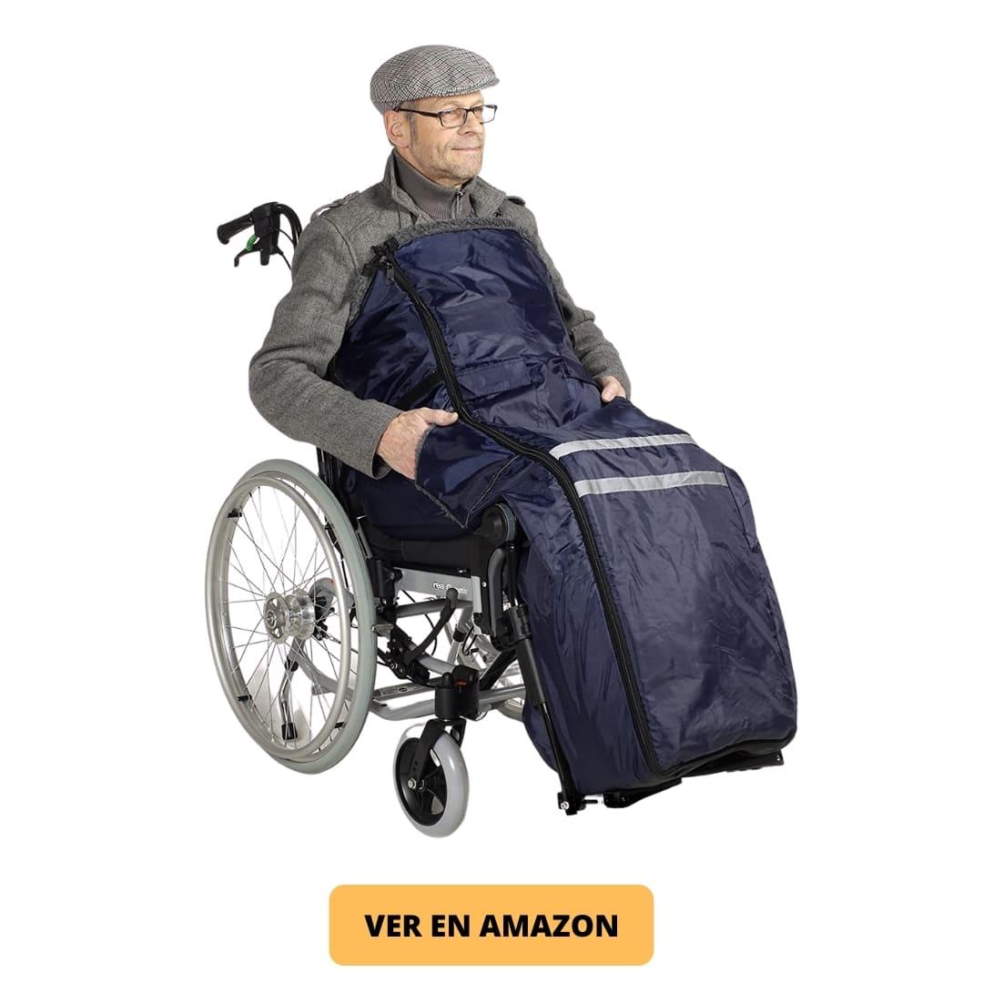 Saco forro polar silla de ruedas adultos