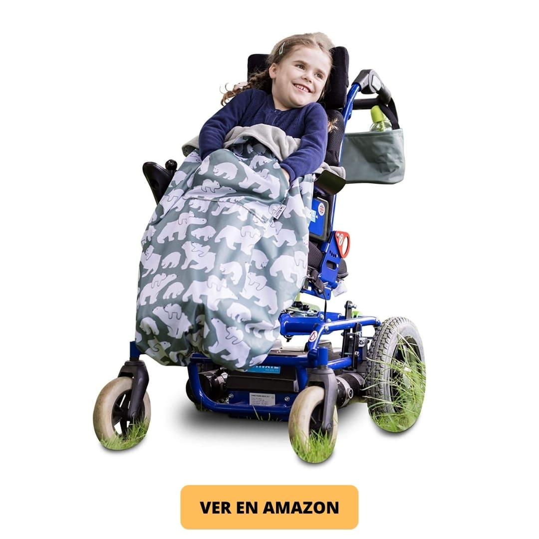 Saco silla de ruedas infantil