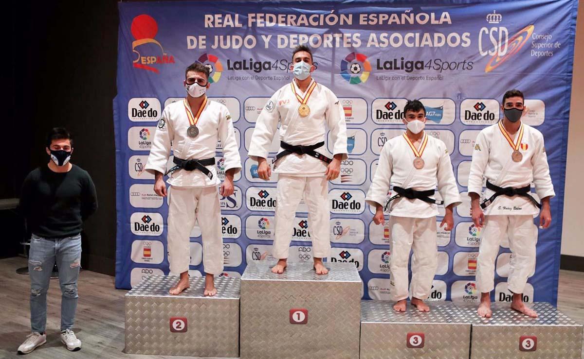 El judoca Sergio Ibáñez