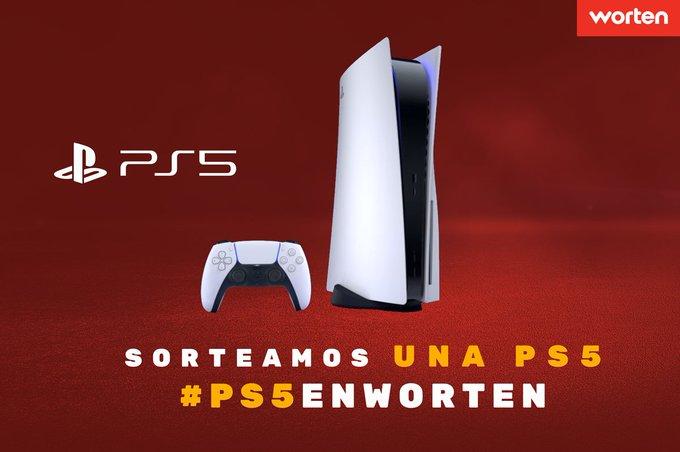 Sorteo PS5 Worten