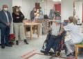 Mari Carmen Déniz, primera persona con discapacidad en ser vacunada contra la COVID-19 en Gran Canaria