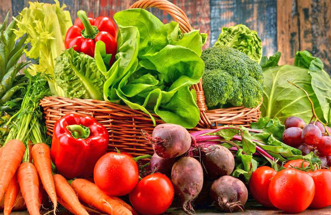 Variedades de verduras