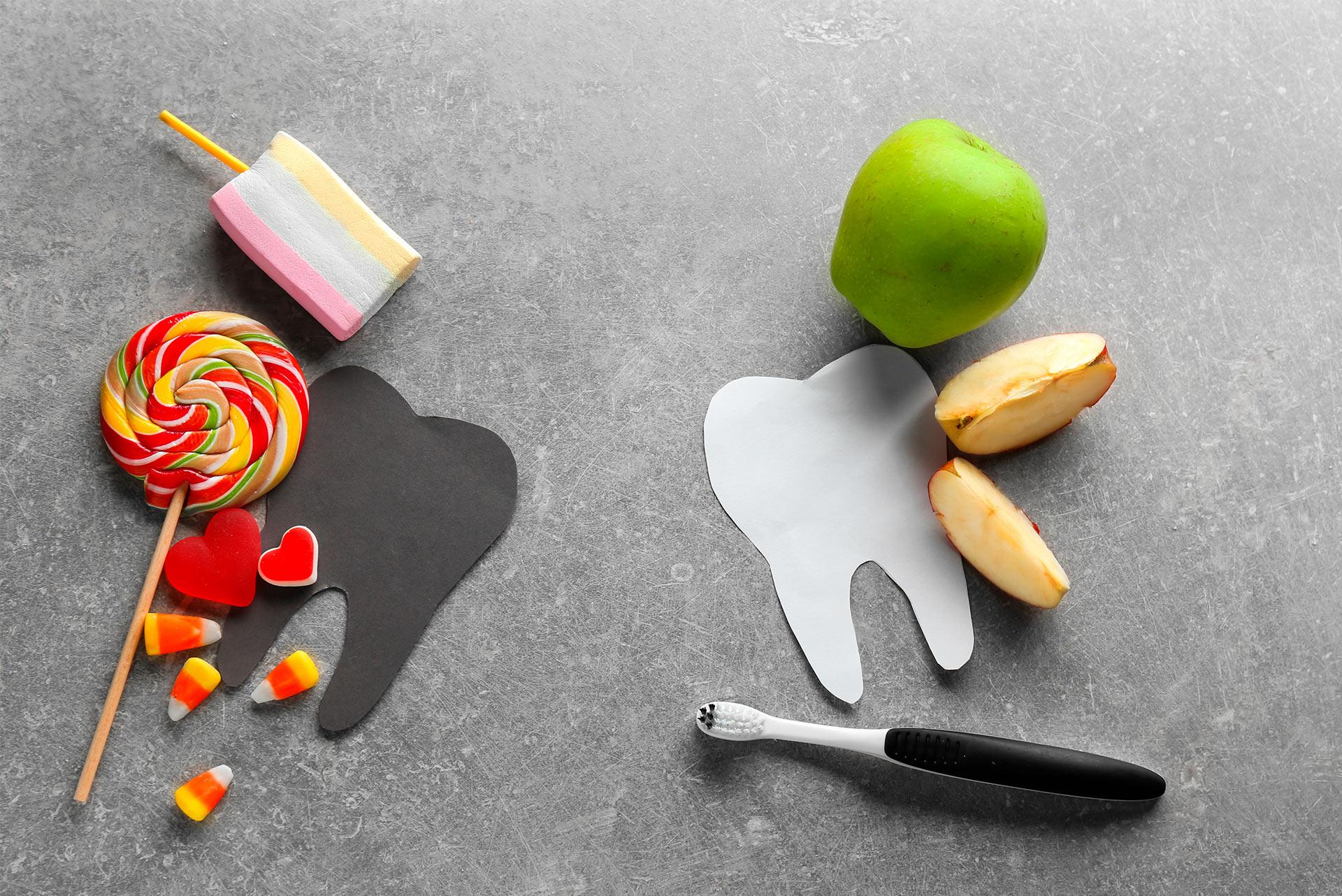 Alimentos que producen más caries