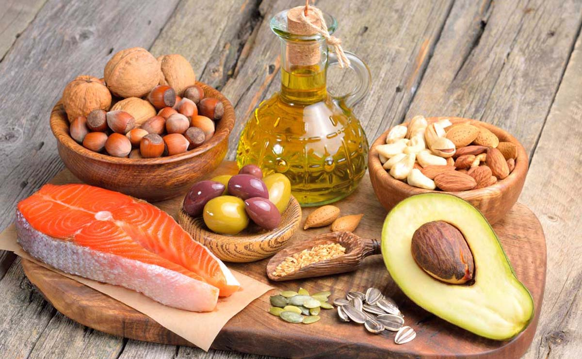 Alimentos con grasa saludable