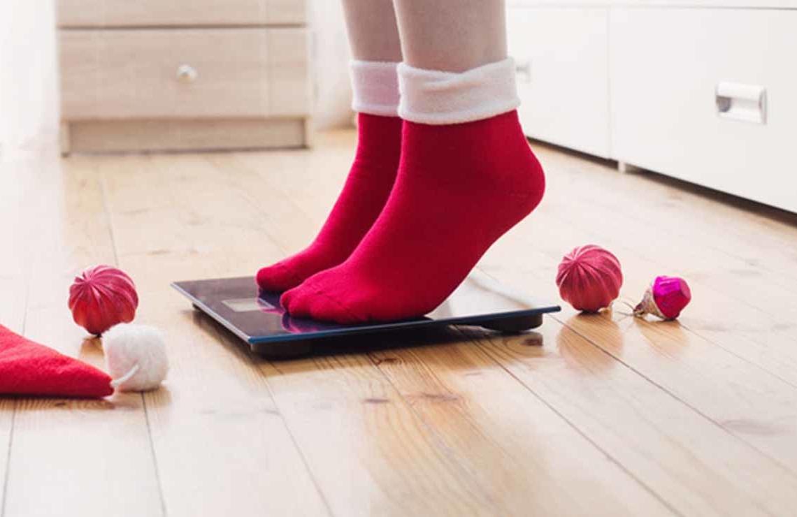 Bajar de peso en Navidad