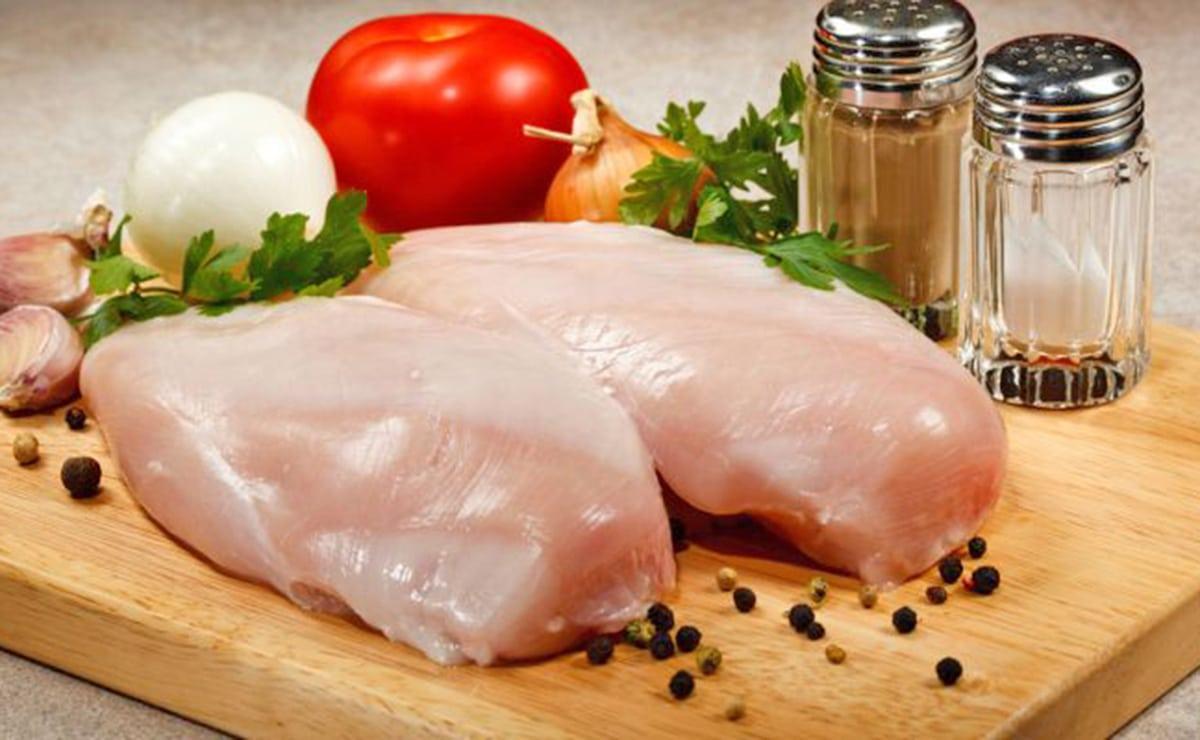 Pechuga de pollo rica en vitamina B3