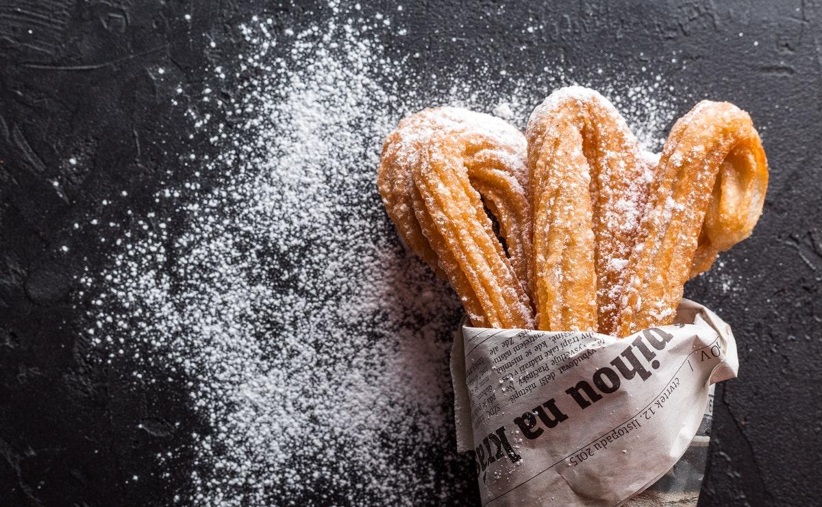 los churros con azúcar son nocivos para la dieta