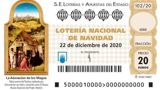 Décimo Lotería Navidad 2020 Buscador