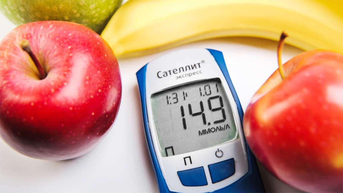 diabetes fruta