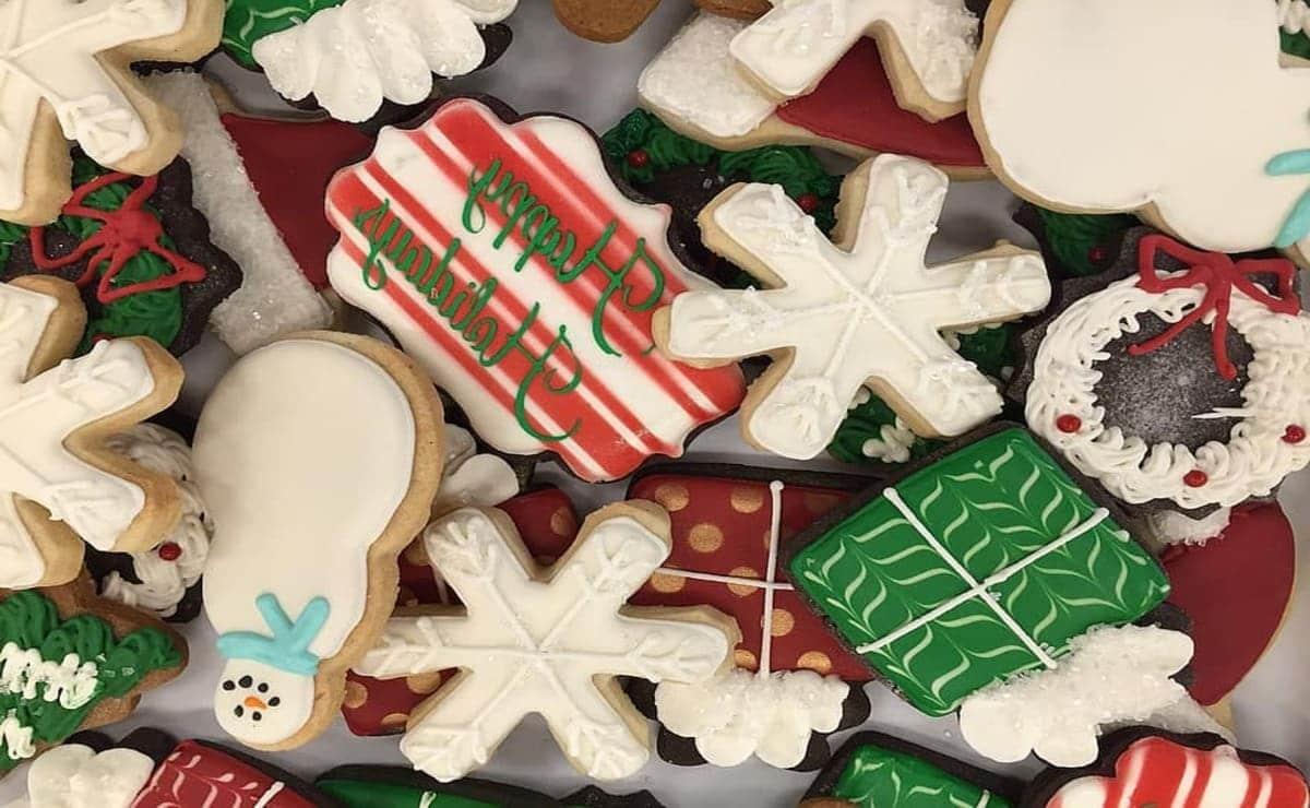 Galletas de festividades navideñas y una dieta sana