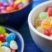 un dieta sana debe excluir gomas y caramelos de colores