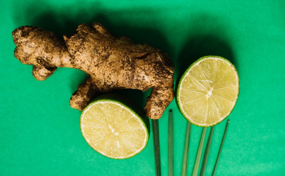 el jengibre con limón es bueno para los problemas digestivos