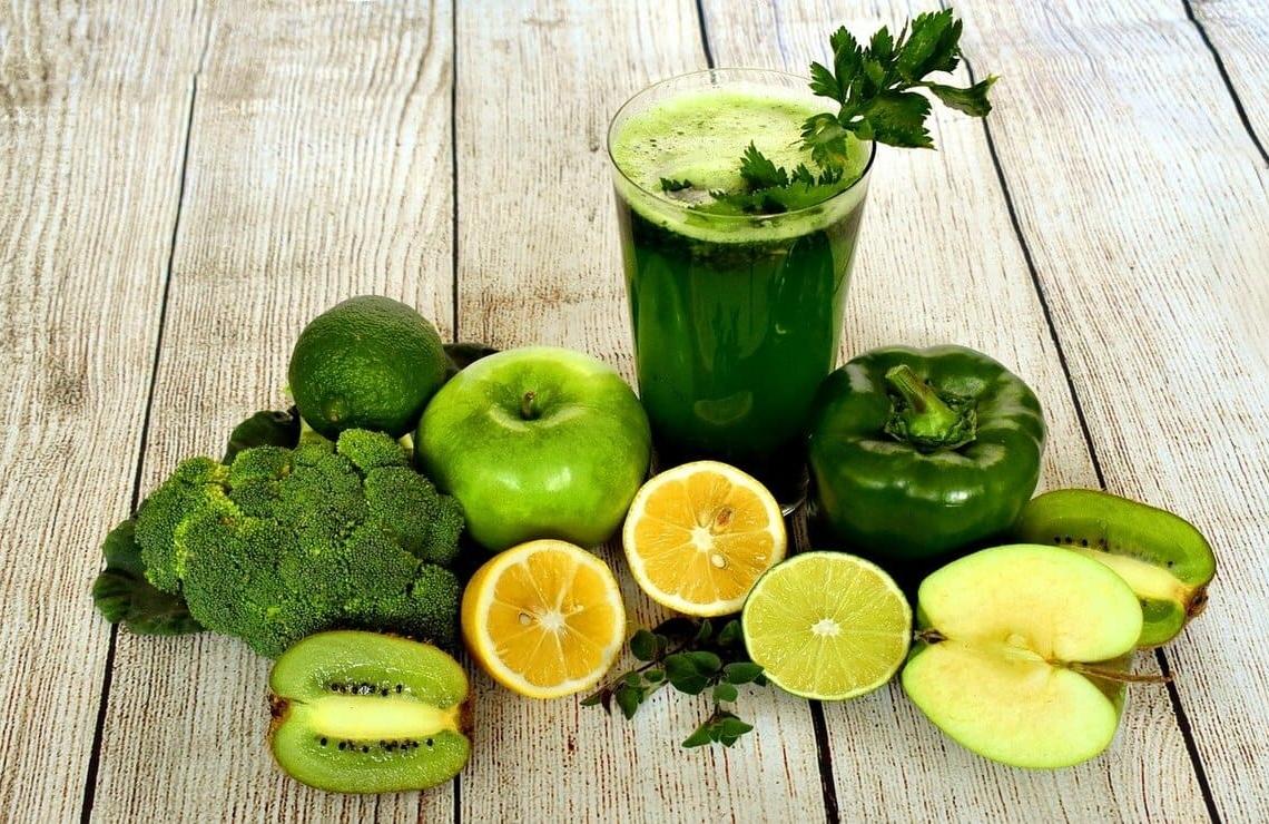 jugos verdes para no aumentar de peso