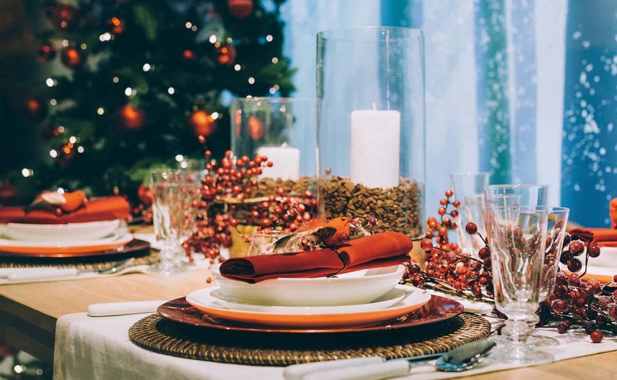 mesa de Navidad de El Corte Inglés