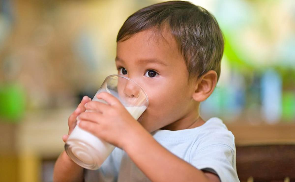 vitamina D niños leche