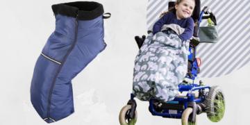 saco polar poncho impermeable silla de ruedas