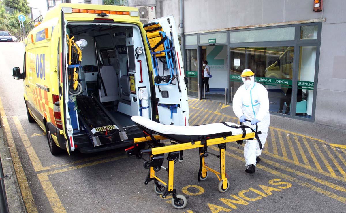 Ambulancia protegida para el Coronavirus