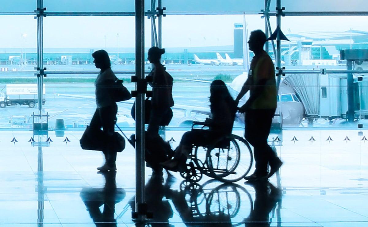 Servicios en los aeropuertos para personas con discapacidad