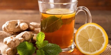 Té de jengibre y limón