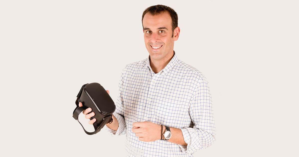 Alejandro González, ingeniero informático - Foto de Virtual Fisio