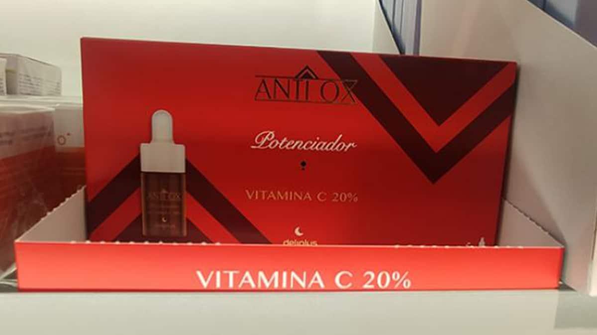 Antiox con vitamina C de Mercadona
