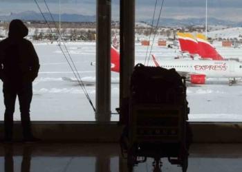 Vuelos cancelados en el aeropuerto Adolfo Suárez | Foto: EFE