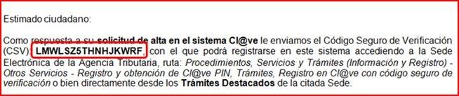 Código de Verificación de Seguridad (CVS)