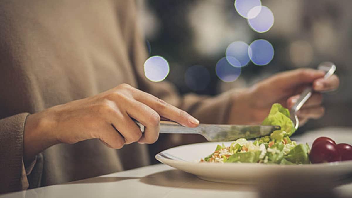 Cena saludable para adelgazar