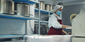 Cocina de FEMAPIC, asociación de personas con discapacidad de Córdoba