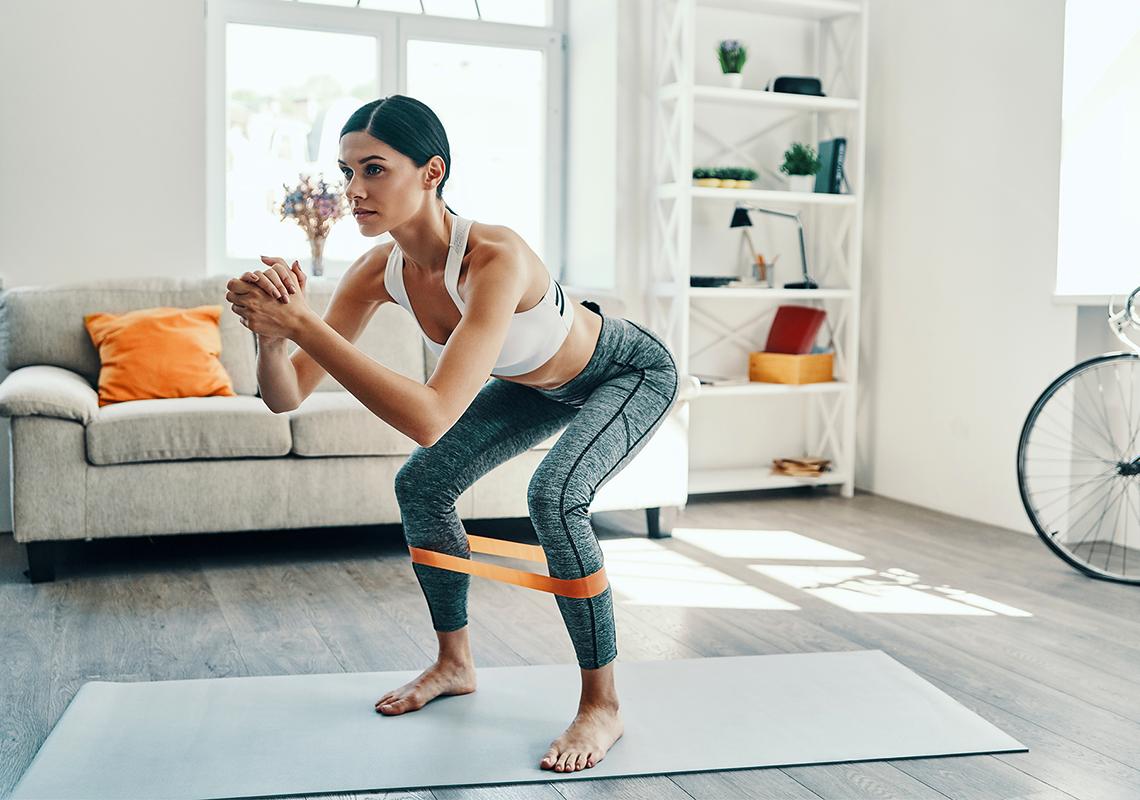 Ejercicios para adelgazar y bajar de peso desde casa