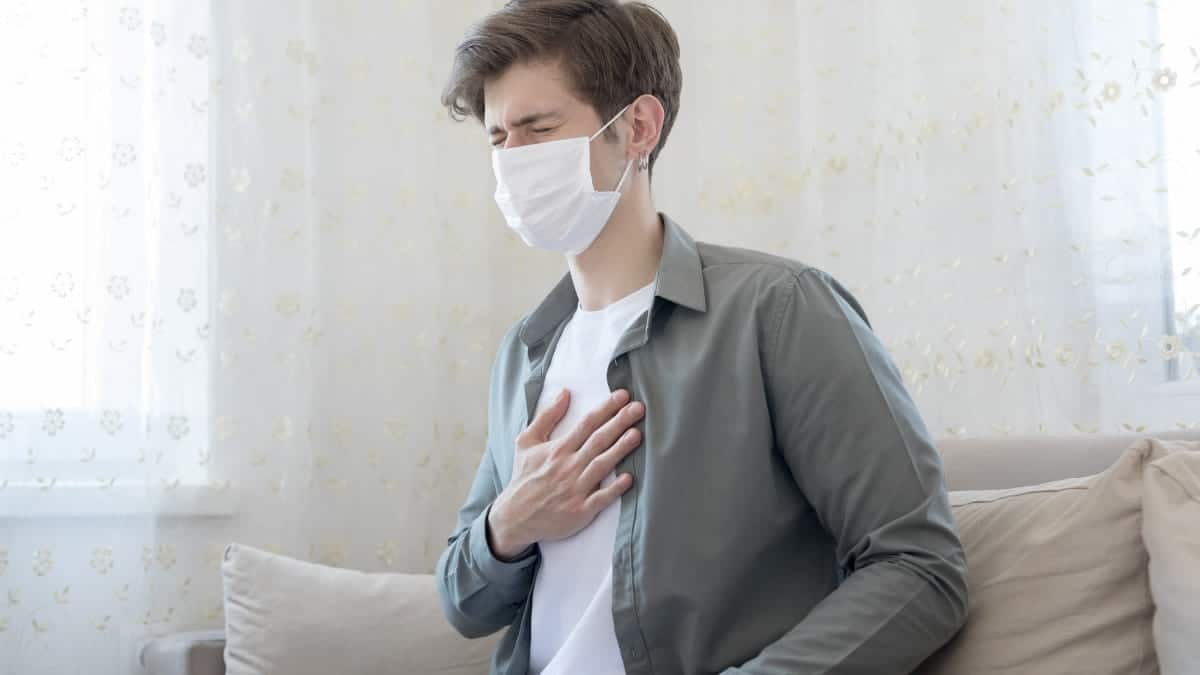 Falta de aliento respirar
