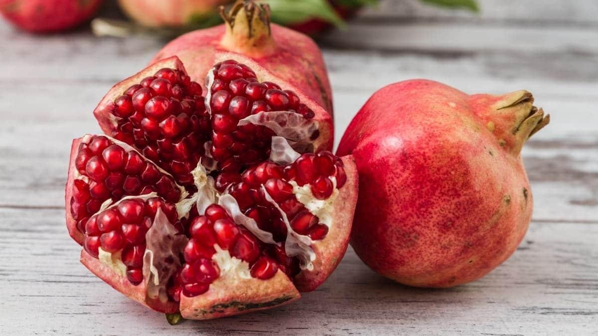 Fruta granadas