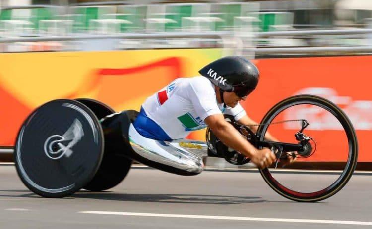 Juegos paralimpicos atleta