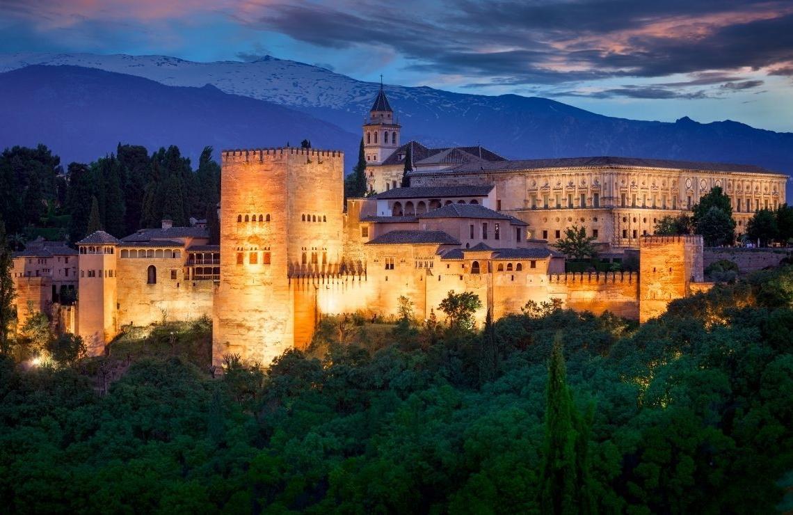 Turismo en Andalucía: Alhambra (Granada)