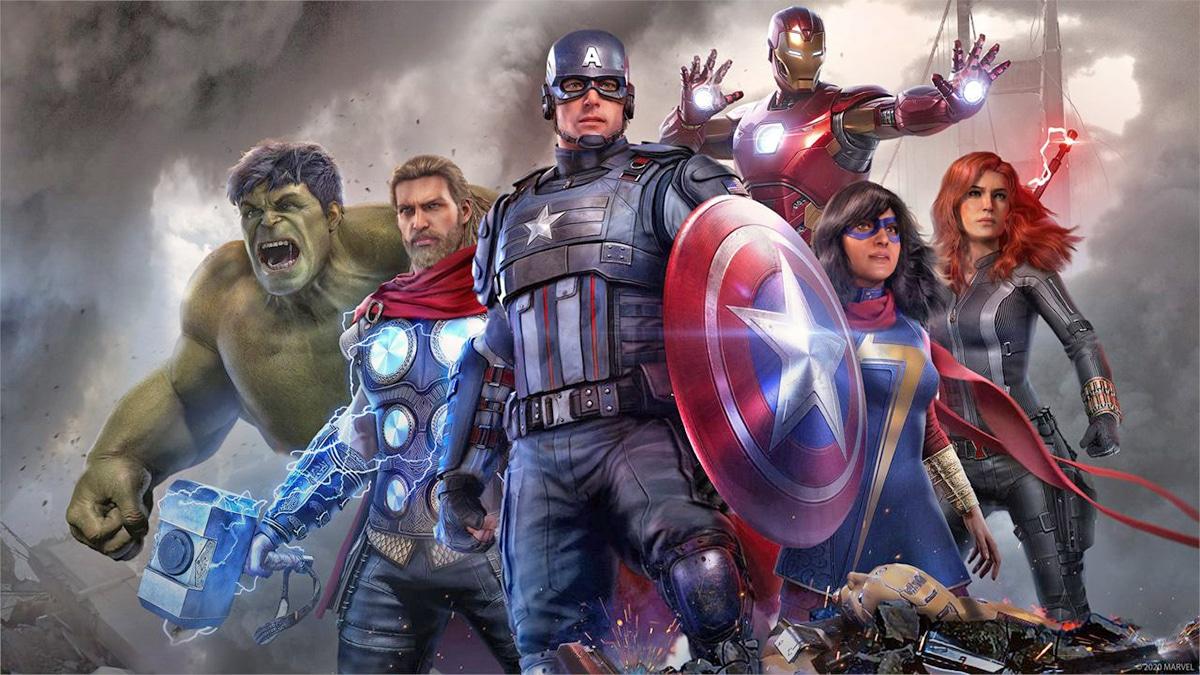 Marvel's Avengers estreno en PS5 durante 2021