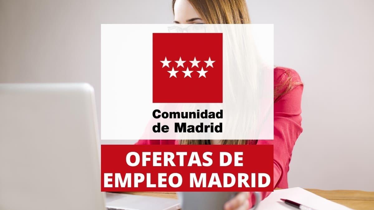 Ofertas de empleo publico Comunidad de Madrid