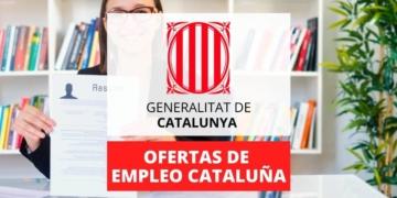 Ofertas de empleo publico Generalitat Catanuña