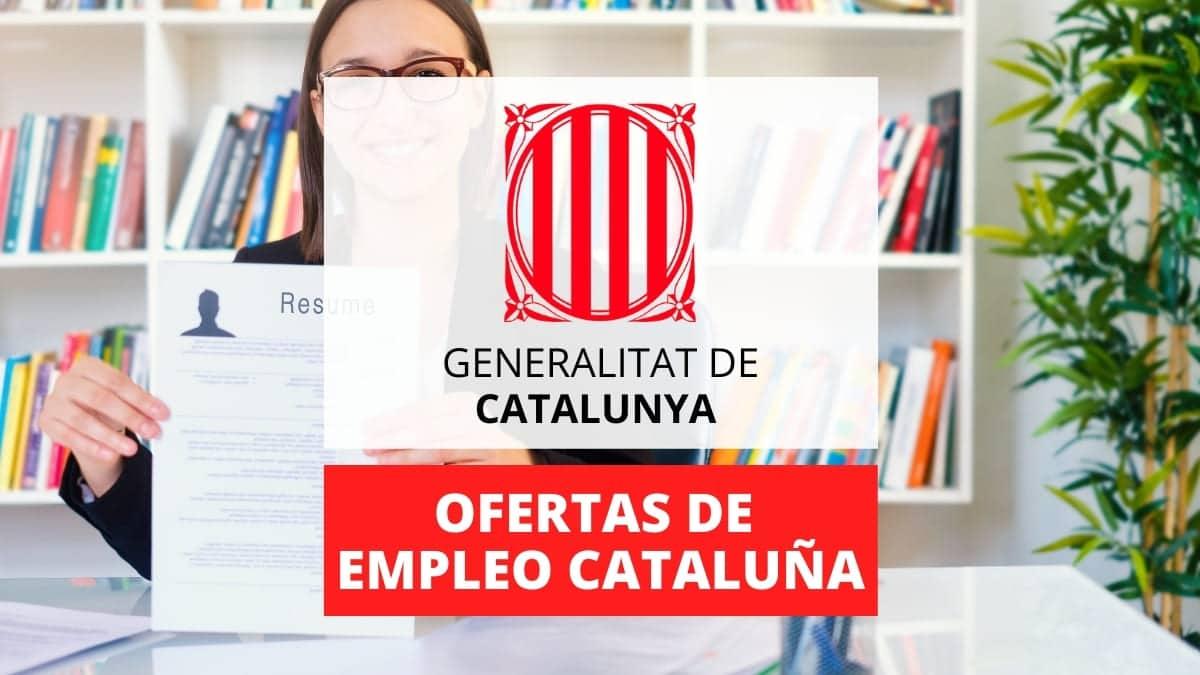Ofertas de empleo publico Generalitat Cataluña